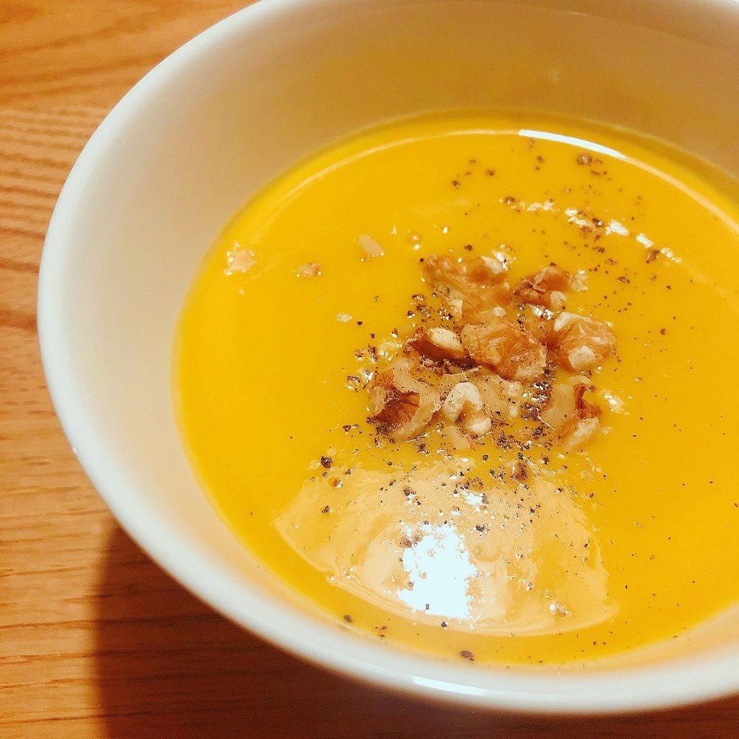 かぼちゃの濃厚豆乳ポタージュ