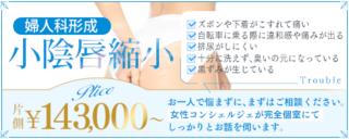 小陰唇縮小なら東郷美容形成外科 福岡