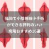 福岡県で評判のいい小陰唇(しょういんしん)縮小手術ができる おすすめ16選
