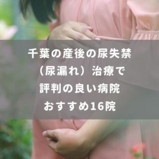 千葉の産後の尿失禁(尿漏れ)治療で評判の良い病院おすすめ16院