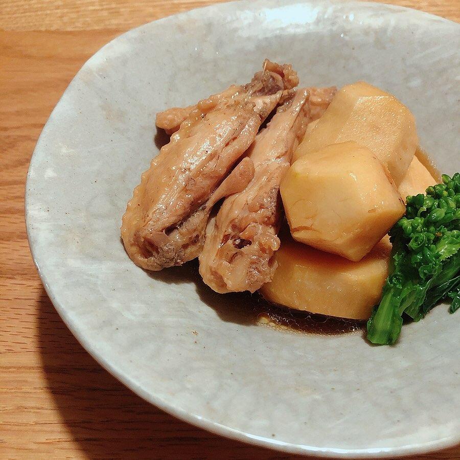 里芋と鶏の簡単煮