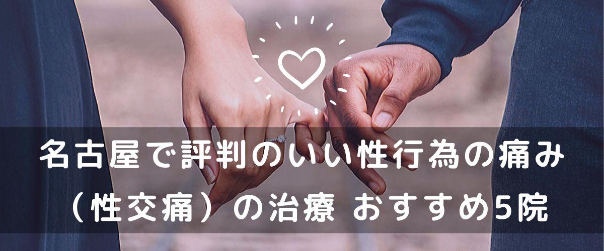 名古屋で評判の良い性行為の痛み(性交痛)の治療 おすすめ5院