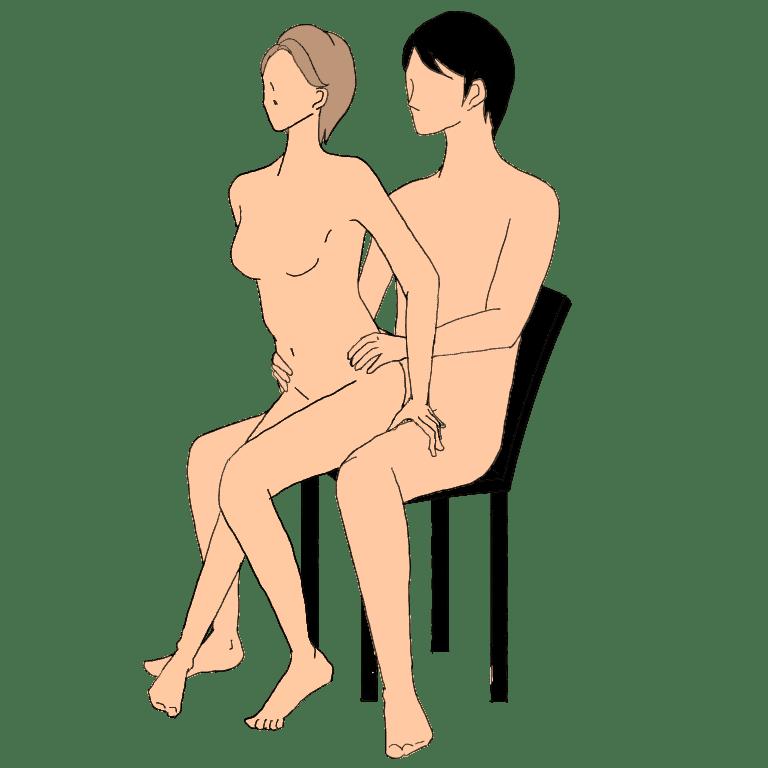 【性交痛を和らげる体位】手がけ