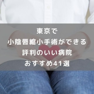 東京で小陰唇縮小手術ができる評判のいい病院おすすめ41選